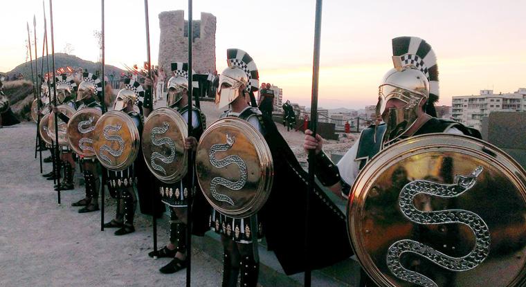 Fiesta Cartagineses y Romanos. Cartagena