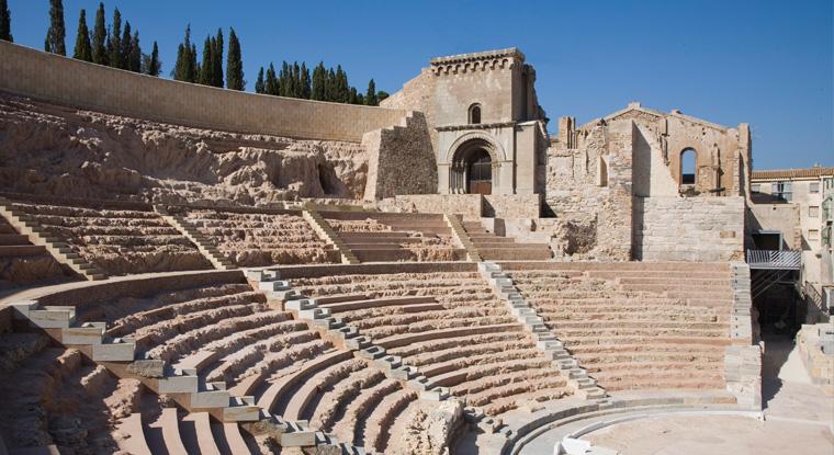 Roman Theatre of Cartagena - Teatro Romano de Cartagena